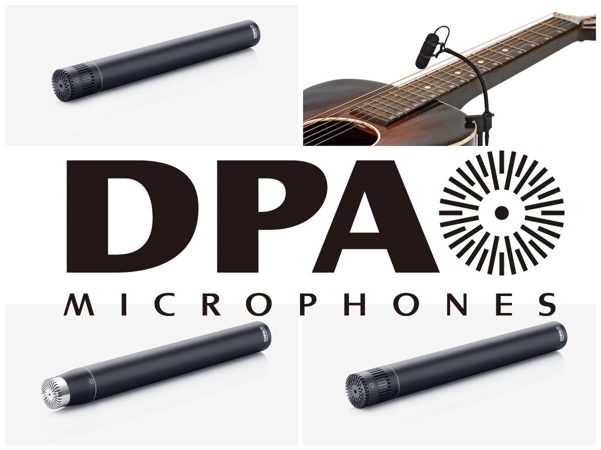 【レンタル情報】DPA 4006A 4011A 4015C VO4099G Pair Microphone  ペアマイク無料レンタルキャンペーン実施中 !!
