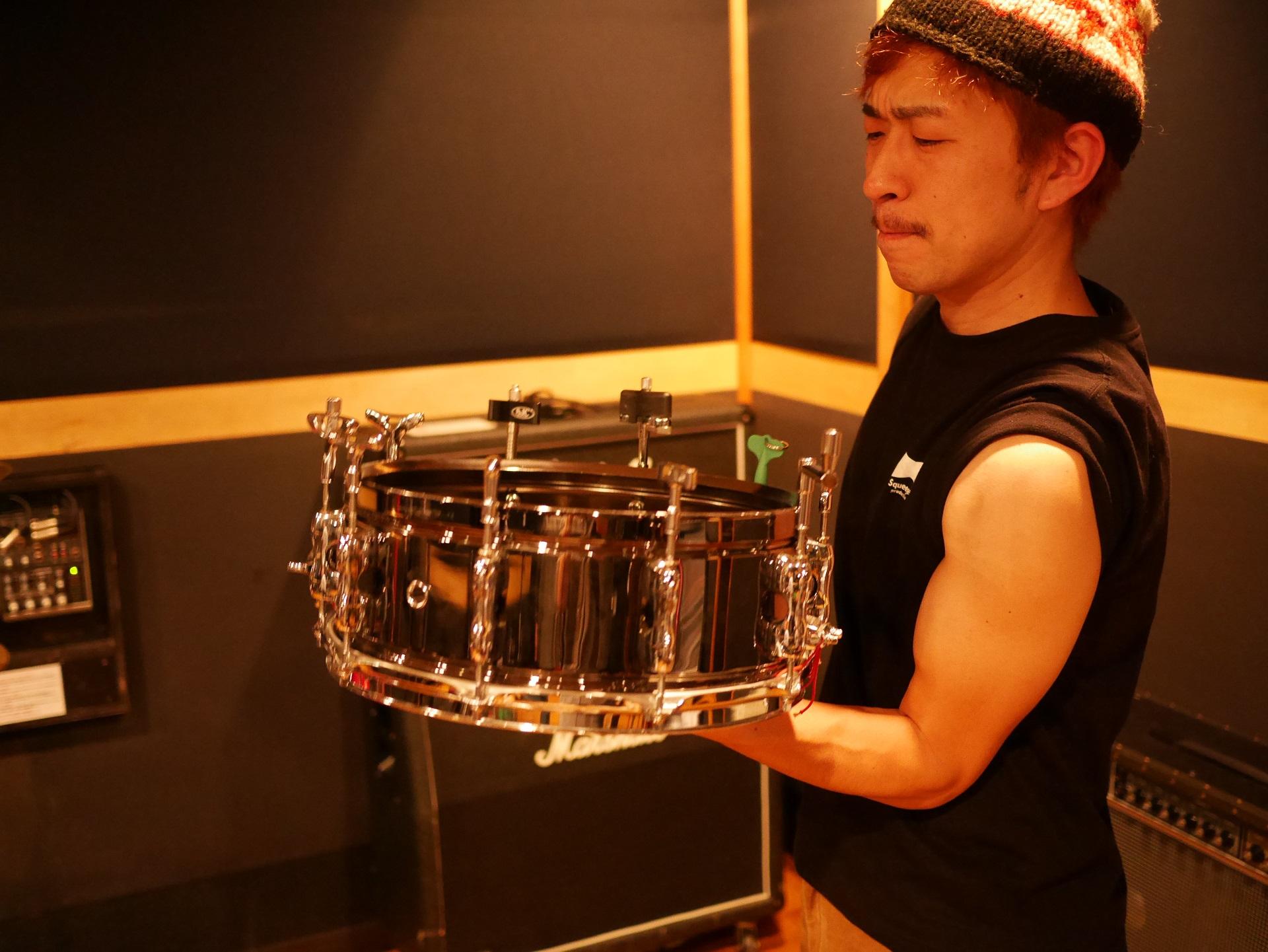 【4+64+9=D/RUM 合同企画】最速チューニングキーを探せ!  Drummer 勝本 浩史(parock86)