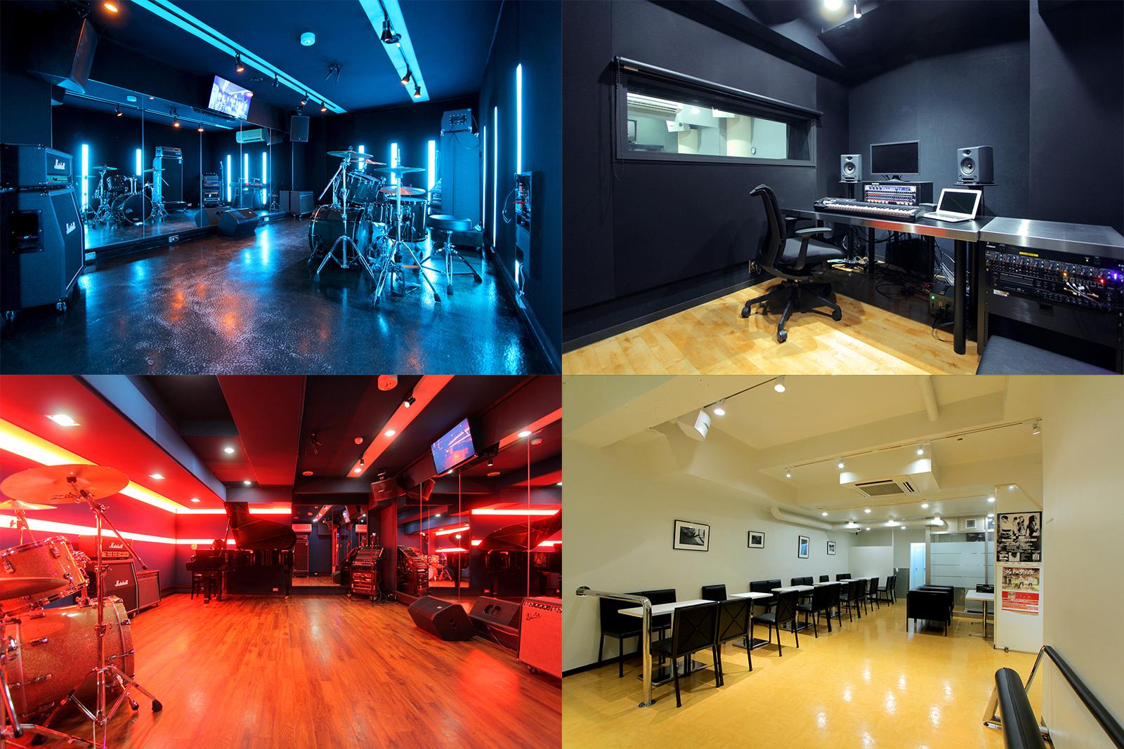 サウンドスタジオノア高田馬場店がリニューアル完了しました!作曲、レコーディング対応スタジオ&ピアノブース&LED照明