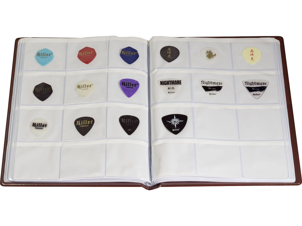 【新製品情報】Pick Punch Guitar Pick Album