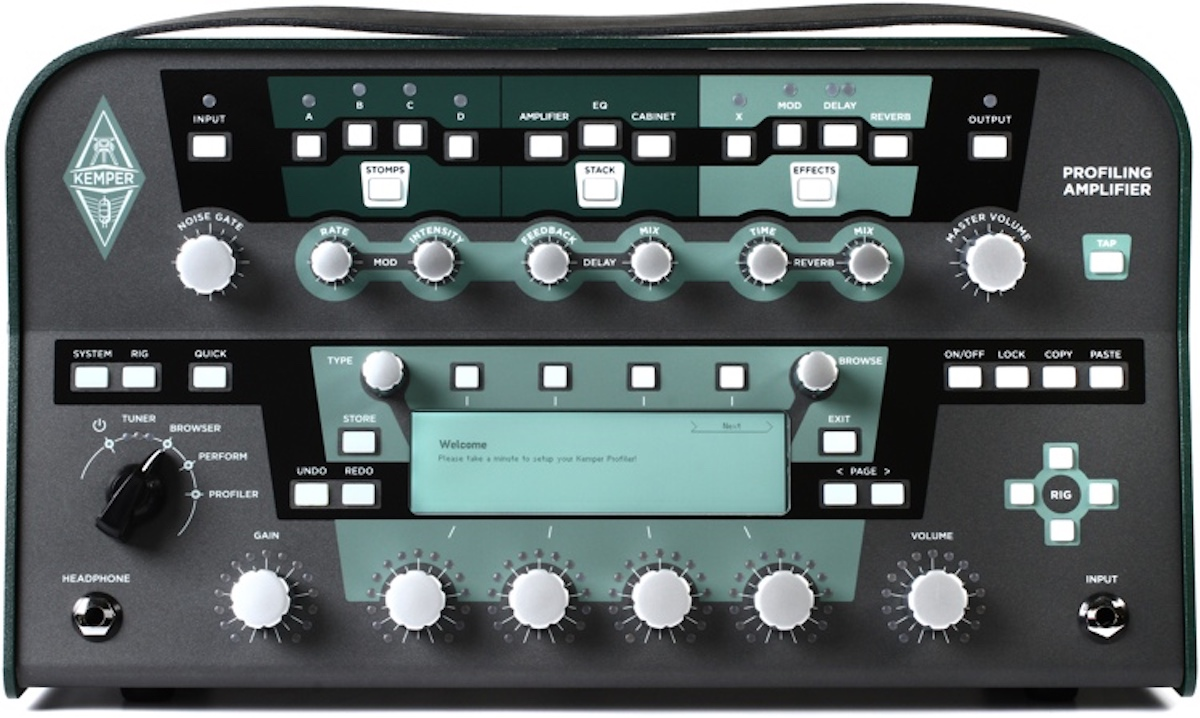 【レンタル】Kemper Profiling Amplifier POWERHEAD無料レンタル中!