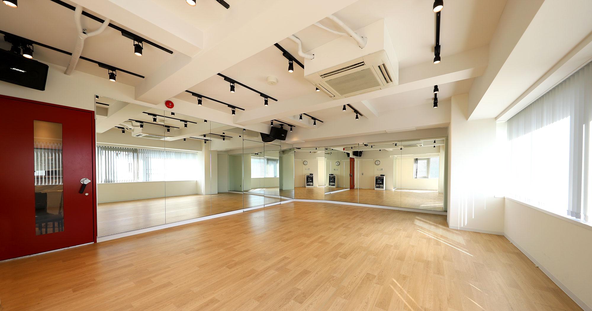 スタジオノア駒沢店に31帖の広々としたダンス練習スタジオがついにオープンしました!(全3スタジオ)