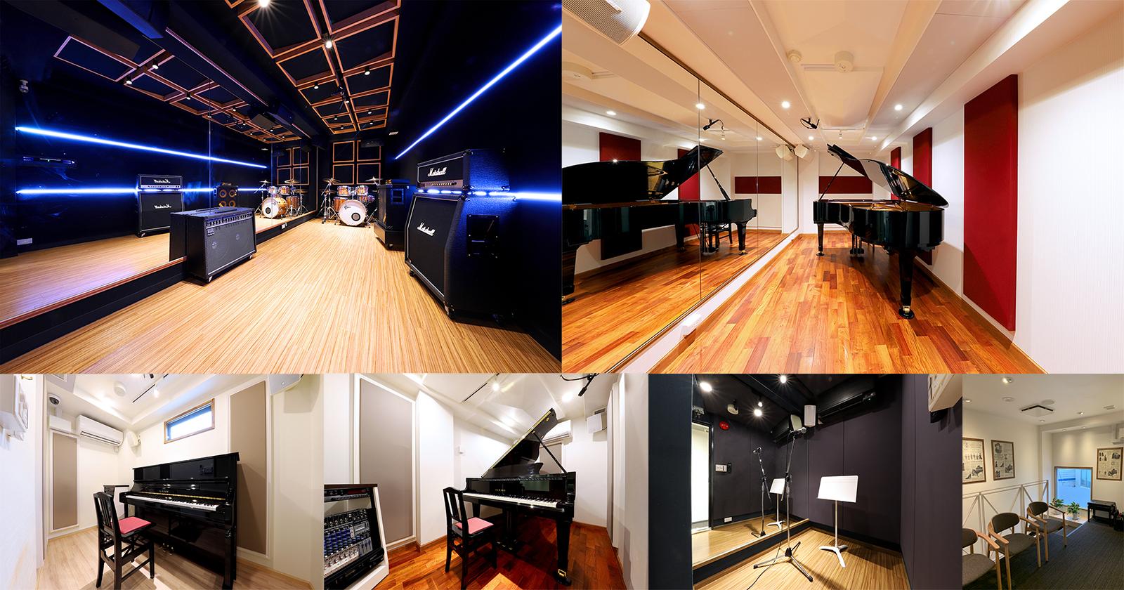 目黒不動前店がオープンしました!ピアノスタジオ+バンドスタジオ+ミュージックスクール
