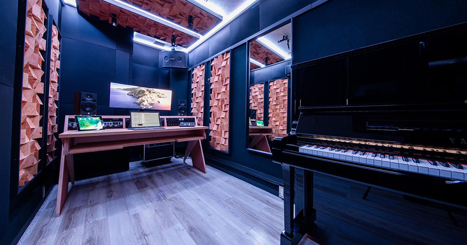 【渋谷1号店】レコーディング  +  アップライトピアノ常設スタジオがオープンしました!